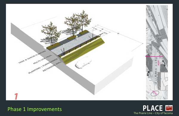 Phase 1 plans show a bare-bones trail design.