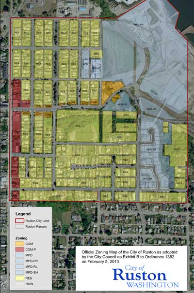 City of Ruston: Official Zoning Map